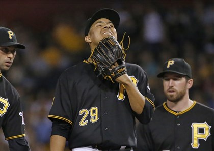 Ernesto Frieri  Ernesto Frieri earned a win in his Pirates debut June 28 but gave up five runs in 1/3 of an inning Thursday.
