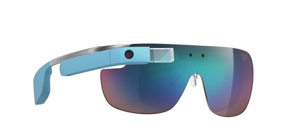 DVF | Made for Glass shades DVF | Made for Glass blue shades featuring Google Glass.