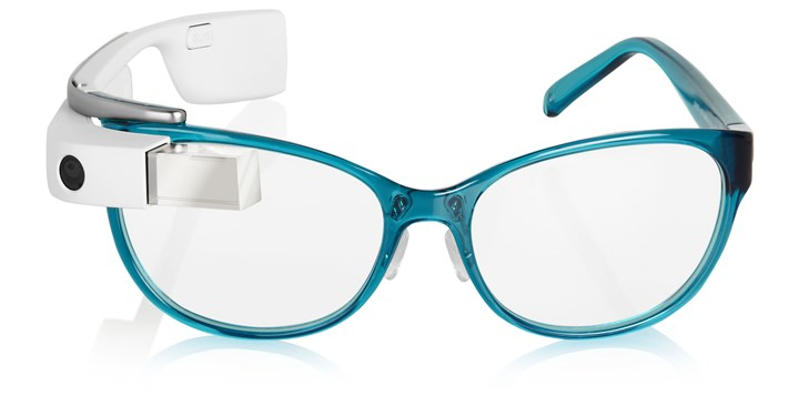 DVF | Made for glass frames DVF | Made for Glass frames in teal, $1,800 at Net-A-Porter.com.