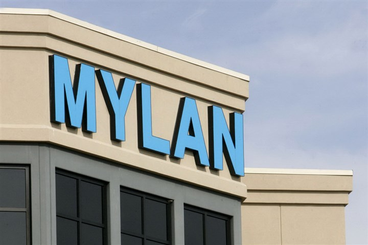 9pd00kpv-5 Mylan headquarters in Canonsburg, Pa.