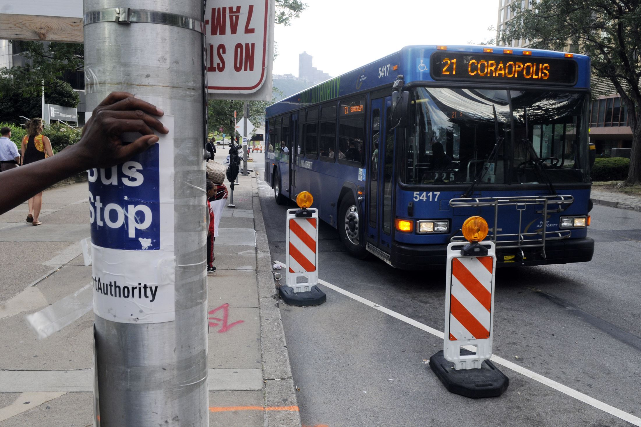 Oakland to downtown transit proposal a slow starter in city pittsburgh post gazette - Port authority bus schedule ...
