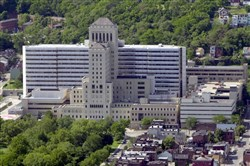The Allegheny General Hospital of the West Penn Allegheny Health System on Pittsburgh's North Side.