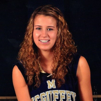9b800kgj.jpg McGuffey's Sammie Weiss is the South Xtra Female High School Athlete of the Year.