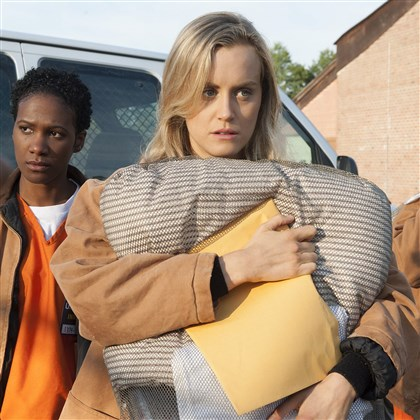 "Orange Is the New Black ""Orange Is the New Black,"" with Tay­lor Schilling"