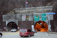 Traffic in the outbound Liberty Tunnel will be reduced to a single lane overnight during cleaning and maintenance, the Pennsylvania Department of Transportation announced. The restriction will be in place from 10 tonight until 5 a.m. Friday.
