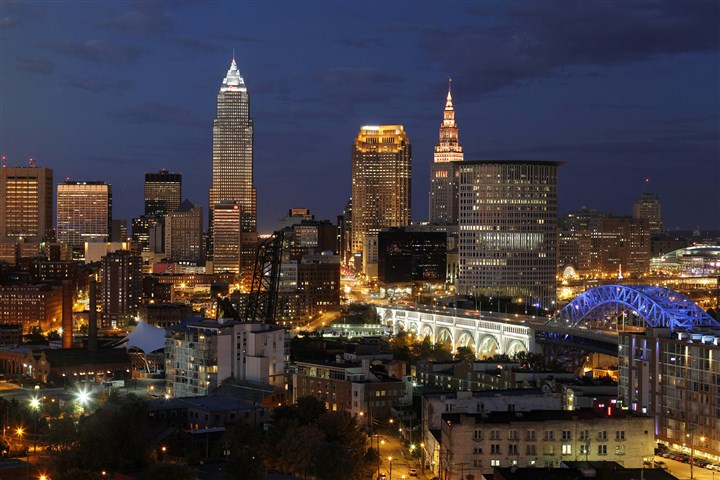 "Cleveland will host the 2016 Republican National Convention Cleveland will host the 2016 Republican National Convention ""People see this as a big deal, a big deal in a city not knowing for winning,"" says Mark Souther, a historian at Cleveland State University."