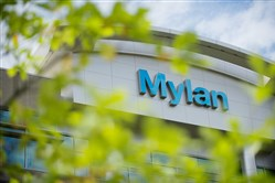 Mylan headquarters stands July 14, 2014, in Canonsburg.