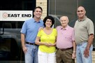East End Plumbing and Mechanical in Sharpsburg has been a family business for 57 years. From left to right are Tony Mascil