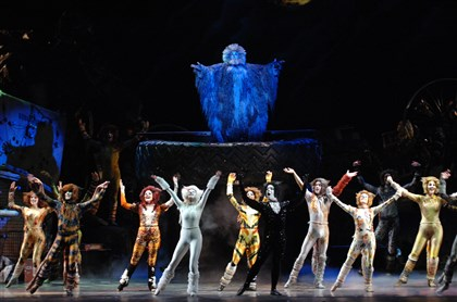 "20140717HOCats1 Pittsburgh CLO's ""Cats"" opens Friday at the Benedum Center."