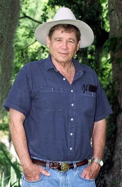 "Novelist James Lee Burke Novelist James Lee Burke, author of ""The Wayfaring Stranger."""