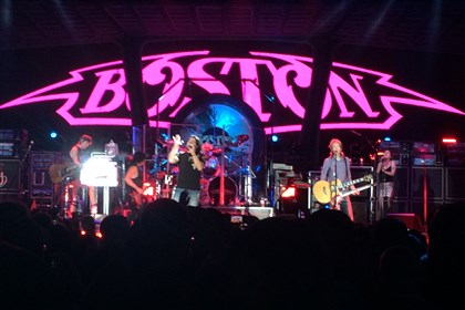 Band Boston2 Boston performs at Stage AE Tuesday night.