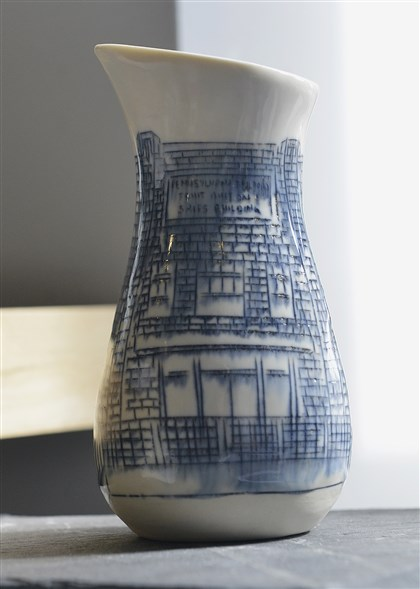 20140716lrceramicsmag04-3 Nicole Aquillano's pitcher at Society for Contemporary Craft.