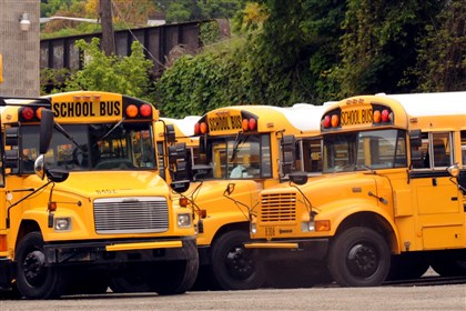 SchoolBus A bus driver for the Pine-Richland School District has been charged with drunken driving and child endangerment.