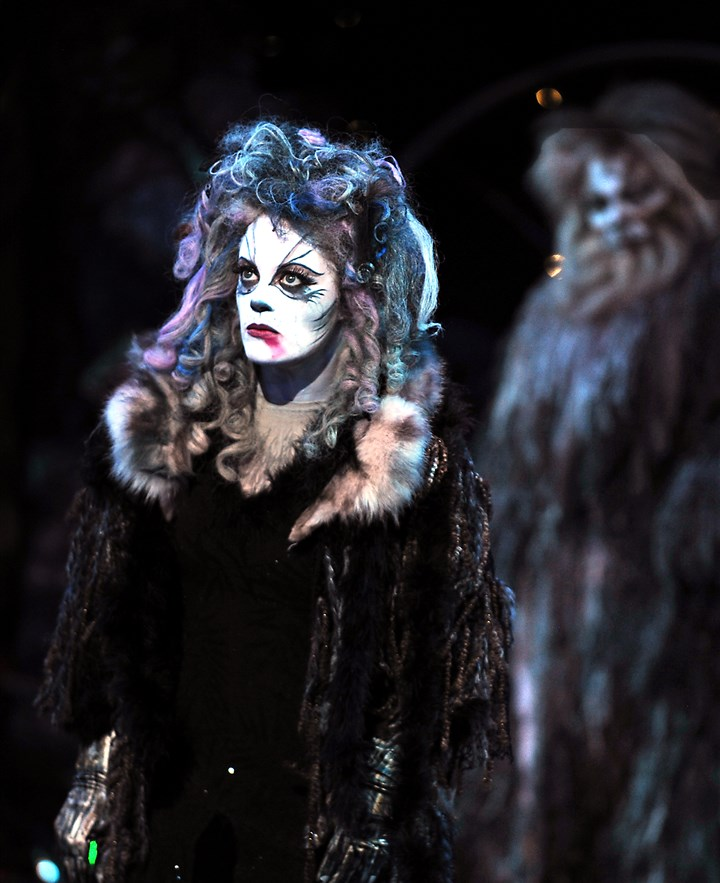 "20140721HOCATS3-2 Elizabeth Stanley as Grizabella in Pittsburgh CLO's ""Cats"" at Benedum Center through July 27."