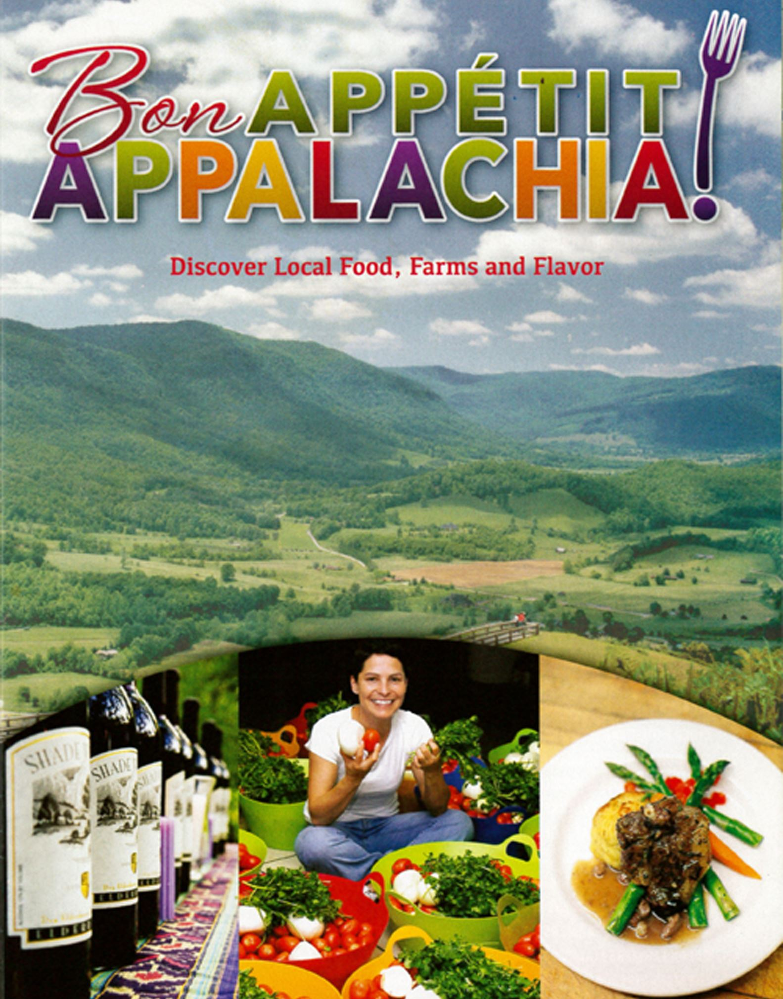 "20140718hdBonAppetitFood This is the cover of the new ""Bon Appetit Appalachia"" guide."