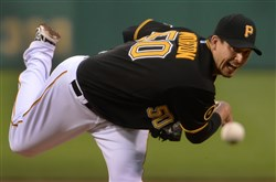 Pirates pitcher Charlie Morton appears to be ready to contribute to the rotation again.