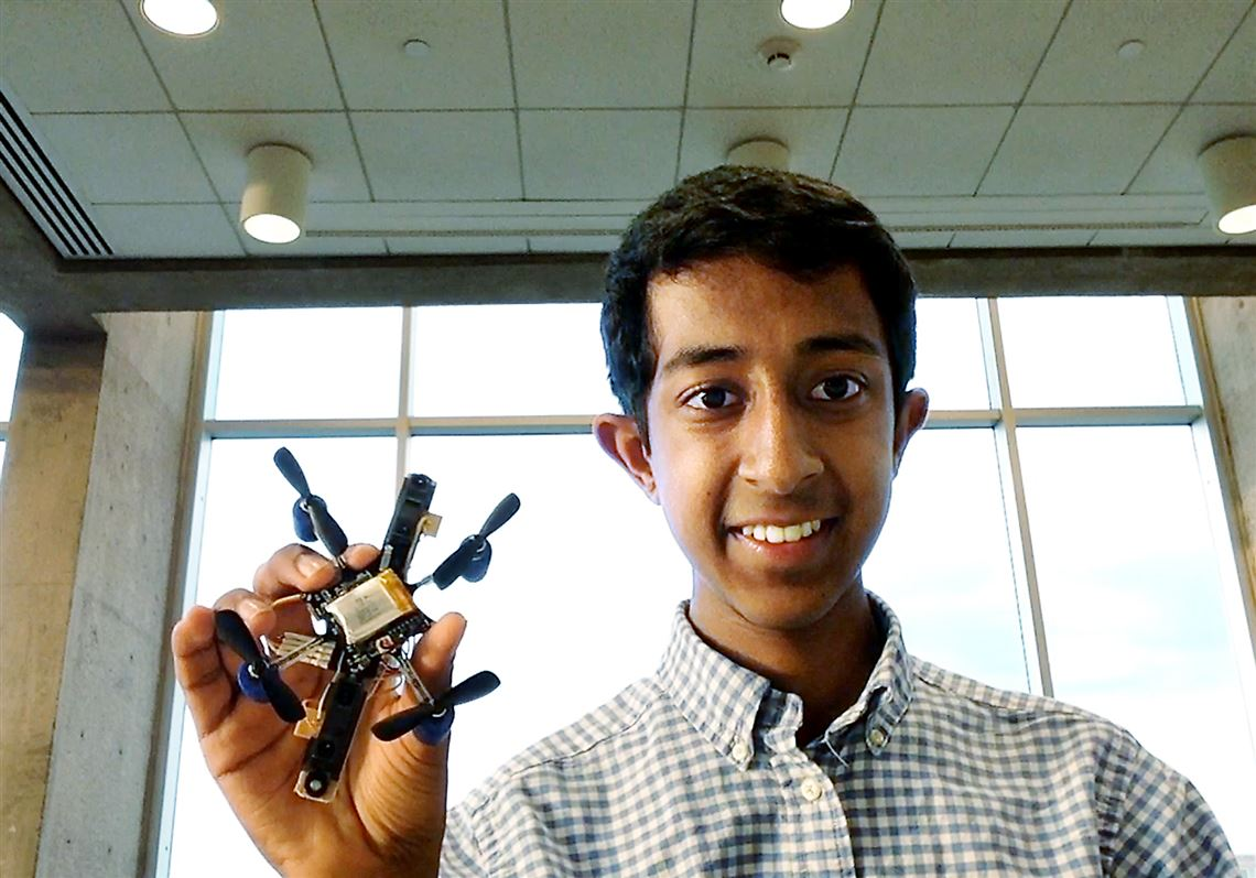 local student a finalist in google science fair for his flying robot