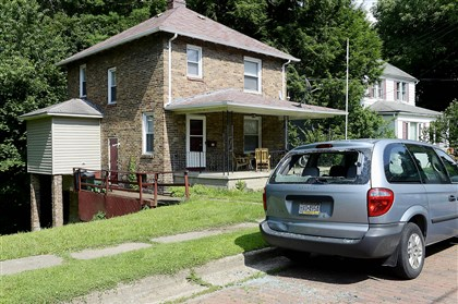 Antonio Rader home Antonio Rader, 8, has been removed from this house in Greenville, Mercer County. His mother, grandmother and his grandmother's husband have been charged with child abuse.