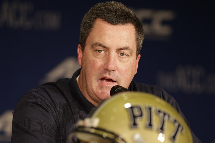 Chryst0722 Pitt head coach Paul responds to questions at ACC media days regarding the Panthers' outlook for 2014.