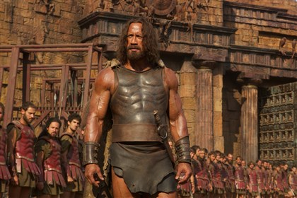 "Hercules3 Dwayne Johnson plays Hercules in the recent ""Hercules"" film from Paramount Pictures and Metro-Goldwyn-Mayer Pictures."