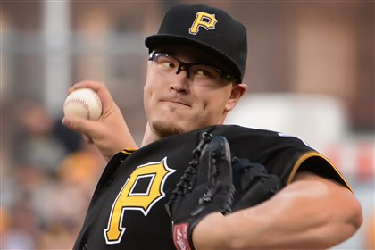 20140722pdPiratesSports05-2 Huntington stole Vance Worley for the Pirates this season.