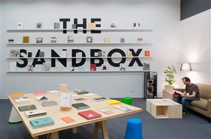 "20140723hothomas0723mag ""The Sandbox: At Play With the Photobook,"" a project of the Hillman Photography Initiative at Carnegie Museum of Art."