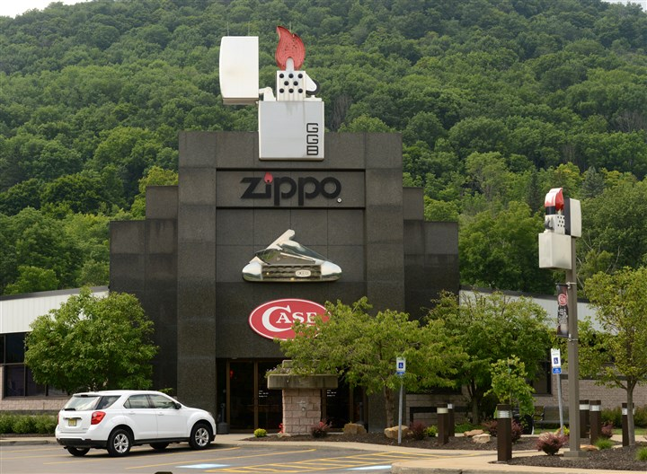 The Zippo/Case museum and store at the company's headquarters in Bradford,  The Zippo/Case museum and store at the company's headquarters in Bradford. The W.R. Case & Sons Cutlery Company is celebrating 125 years of making handcrafted knives.