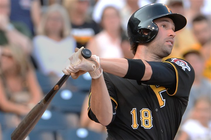 walker0723 Pirates second baseman Neil Walker hits a home run from the left side of the plate