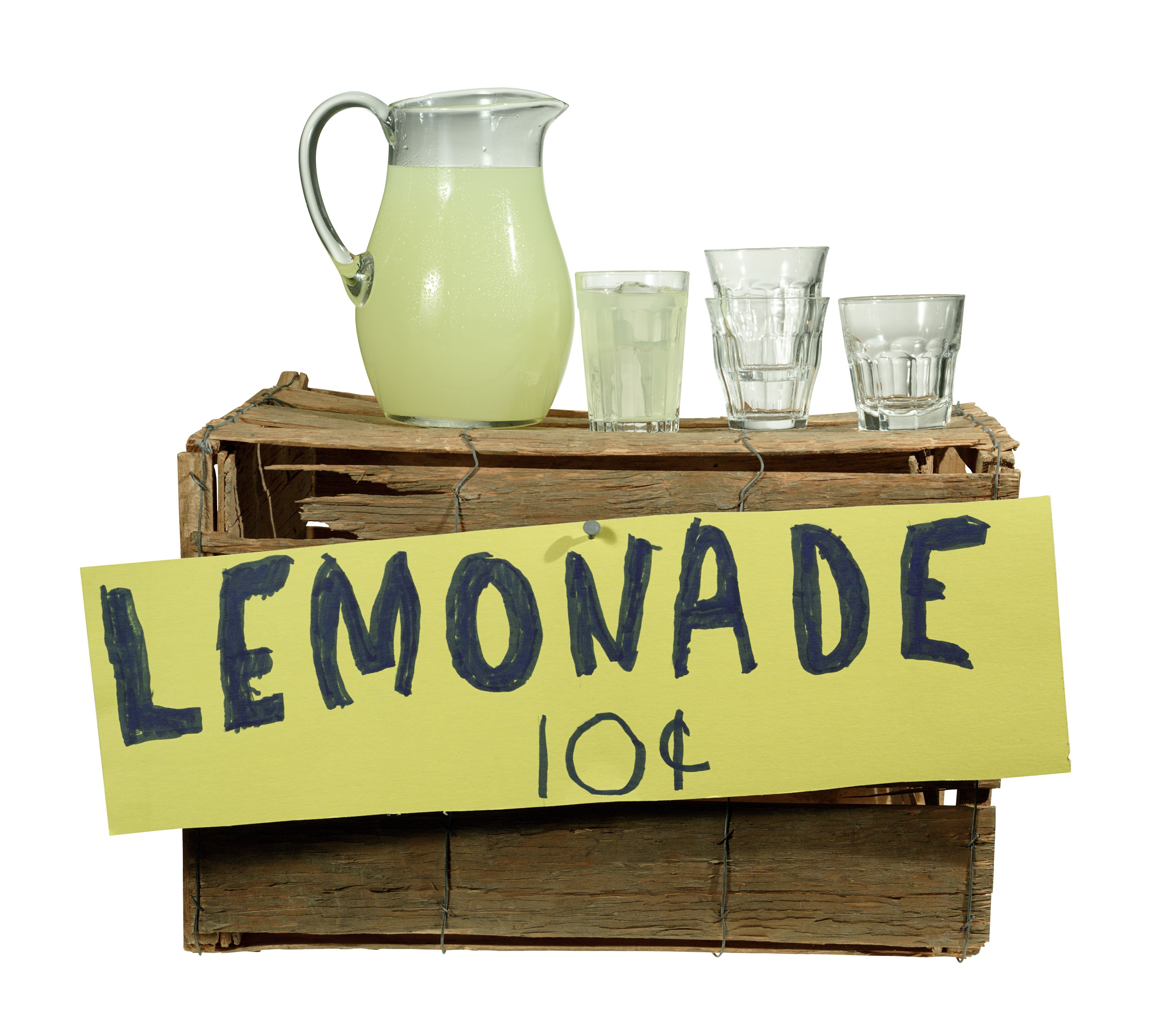 Summer Memories Lemonade Stand Added Up To Little By Dad