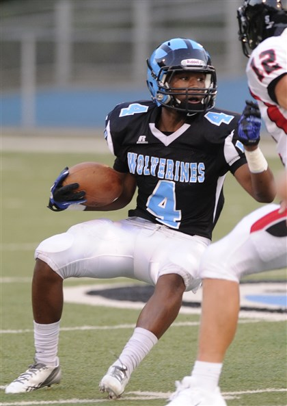 9kd00koo.jpg Woodland Hills running back Miles Sanders, who is rated as one of the top junior running backs in the country by several recruiting websites, verbally committed to Penn State.