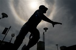 Already memorialized in statue and near-myth, might Roberto Clemente have a case for sainthood?