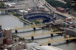 Termaine Washington called the county 911 center repeatedly saying he had planted a bomb at the Allegheny County Jail and at PNC Park during a baseball game.