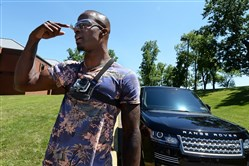 Ike Taylor, considering a career in TV, has always showed his big personality when the Steelers arrive at training camp.