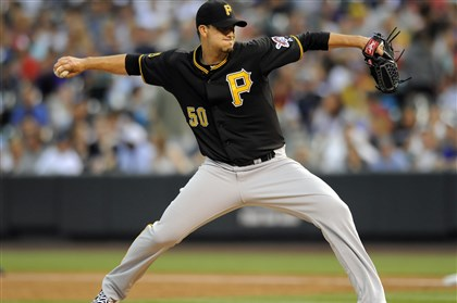 Charlie Morton Charlie Morton gave up four runs in six innings Friday against the Rockies in Denver.