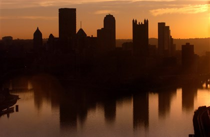 Pittsburgh skyline Pittsburgh boasts beauty and plenty positive rankings, including the most livable city. But it's also one of the unhappiest, according to the National Bureau of Economic Research.