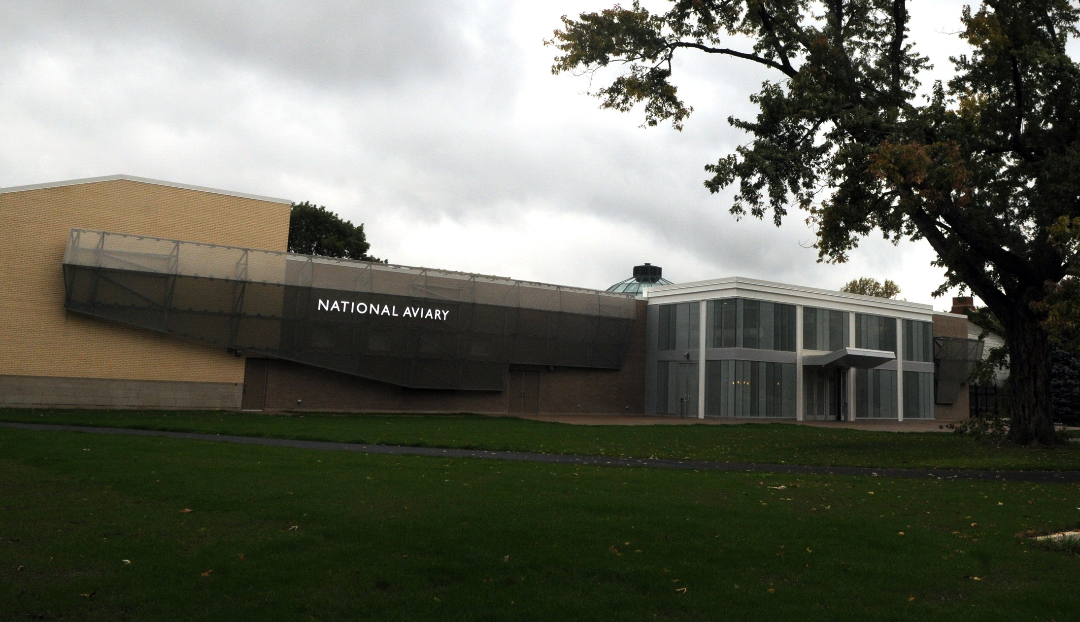 National Aviary on PIttsburgh's North Side.