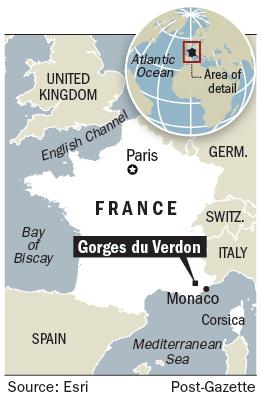 Verdon gorge france 39 s grand canyon offers a spectacular - Location gorge du verdon avec piscine ...