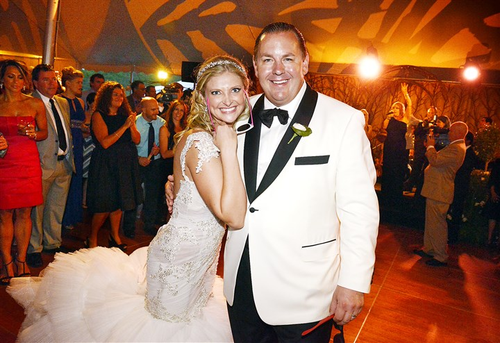 20140726bwNocitoSeen03-2 Joseph Nocito Jr. and Alexis Wukich at their wedding. #SEENHavingFun