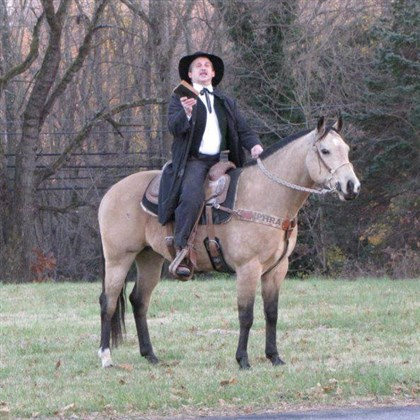 Irwin circuit rider The Rev. Doug Burns, pastor of Christ United Methodist Church in North Huntingdon, will lead a service in Irwin Park commemorating the work of the early circuit-riding ministers, as part of Irwin's 150th anniversary celebration.