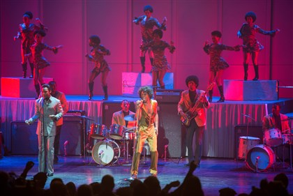 "GetOnUp5-2 Chadwick Boseman as James Brown in ""Get On Up."""