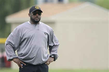 Steelers Mike Tomlin Steelers coach Mike Tomlin