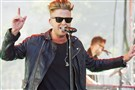 Ryan Tedder of OneRepublic Ryan has been advised by doctors to sit out Saturday's preformance.