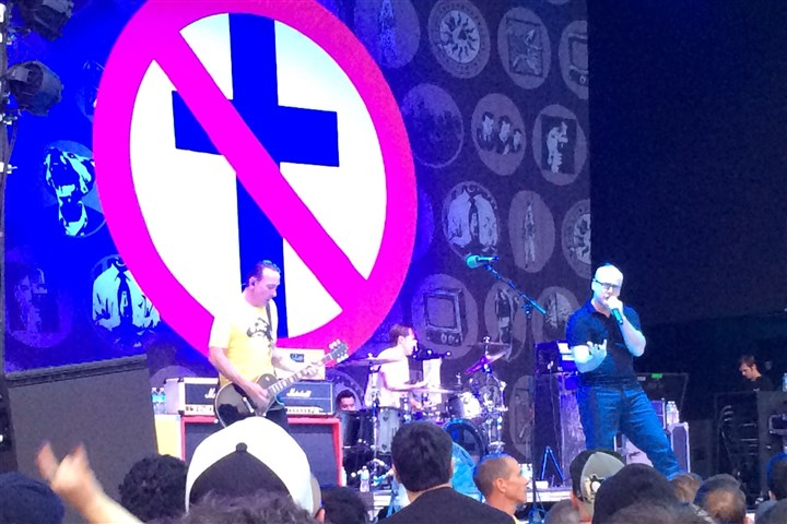 badreligion Bad Religion performs at Stage AE.