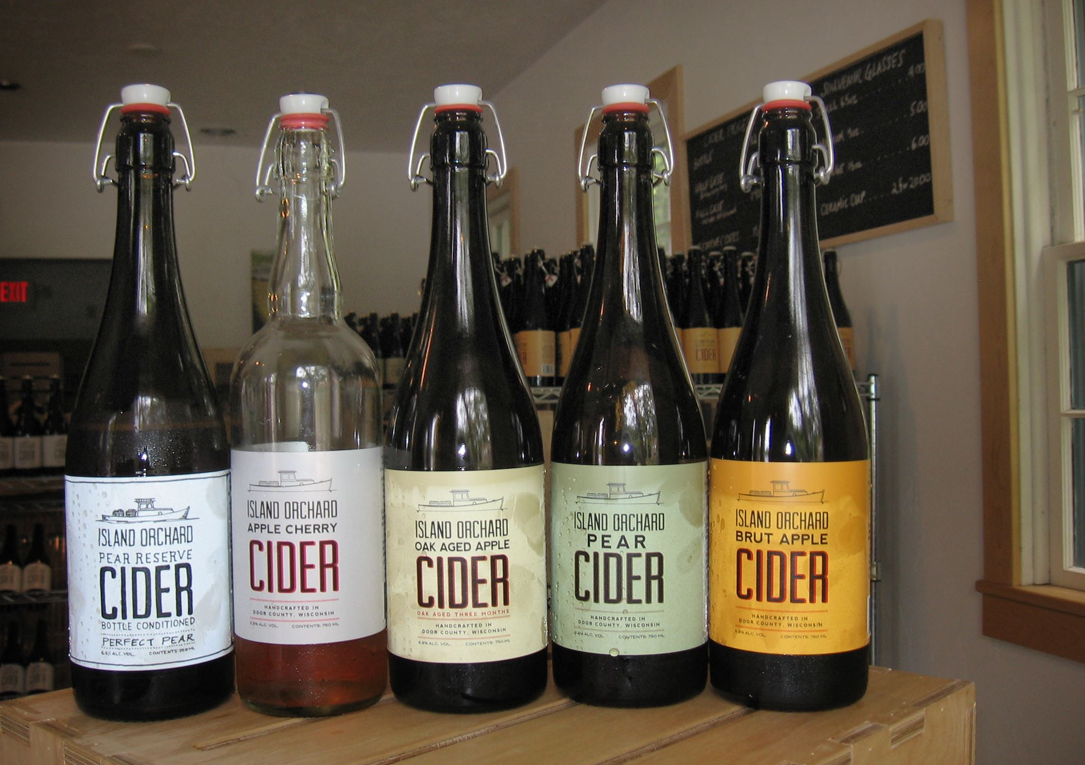 20140729howisccfood-1 Island Orchard Cider's Normandy-style ciders, from Ellison Bay, Wisc.