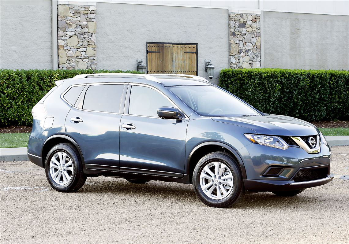The 2014 Nissan Rogue Gets A New Look And More Room For The Model Year,