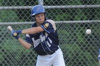 Jake Liposky has played solid right field and adds another offensive weapon for the West Mifflin American Legion team.