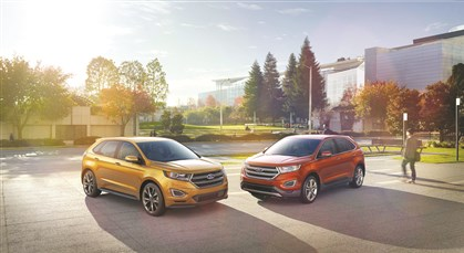 All-New 2015 Ford Edge All-New 2015 Edge showcases Ford's best technology, more driver-assist features, improved performance and outstanding craftsmanship.