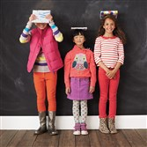 There's no need to bend your budget on clothes for class. Opt for colorful basics that can be mixed and matched to create several ensembles. On its website, www.bodenusa.com, and in its catalog, Boden carries affordable separates for girls and guys that can be carried from fall into winter.