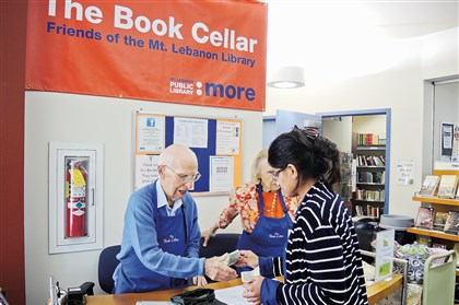 20170731hoBerniesouth Bernie Queneau, a long-time library volunteer at Mt. Lebanon Library, celebrated his 102nd birthday on July 14.
