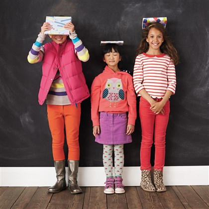 Boden back to school clothes There's no need to bend your budget on clothes for class. Opt for colorful basics that can be mixed and matched to create several ensembles. On its website, www.bodenusa.com, and in its catalog, Boden carries affordable separates for girls and guys that can be carried from fall into winter.